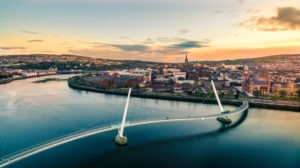 "Londonderry - ""Peace Bridge"""