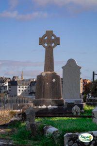 Donegal Town - Cimitero celtico tra i ruderi della antica Abbazia Francescana