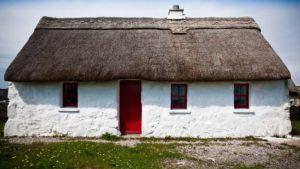 Galway - cottage dal tetto di paglia