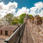 Parke's Castle - Le antiche mura di guardia