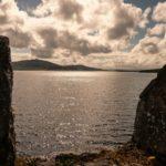 Parke's Castle - Vista su Lough Gill